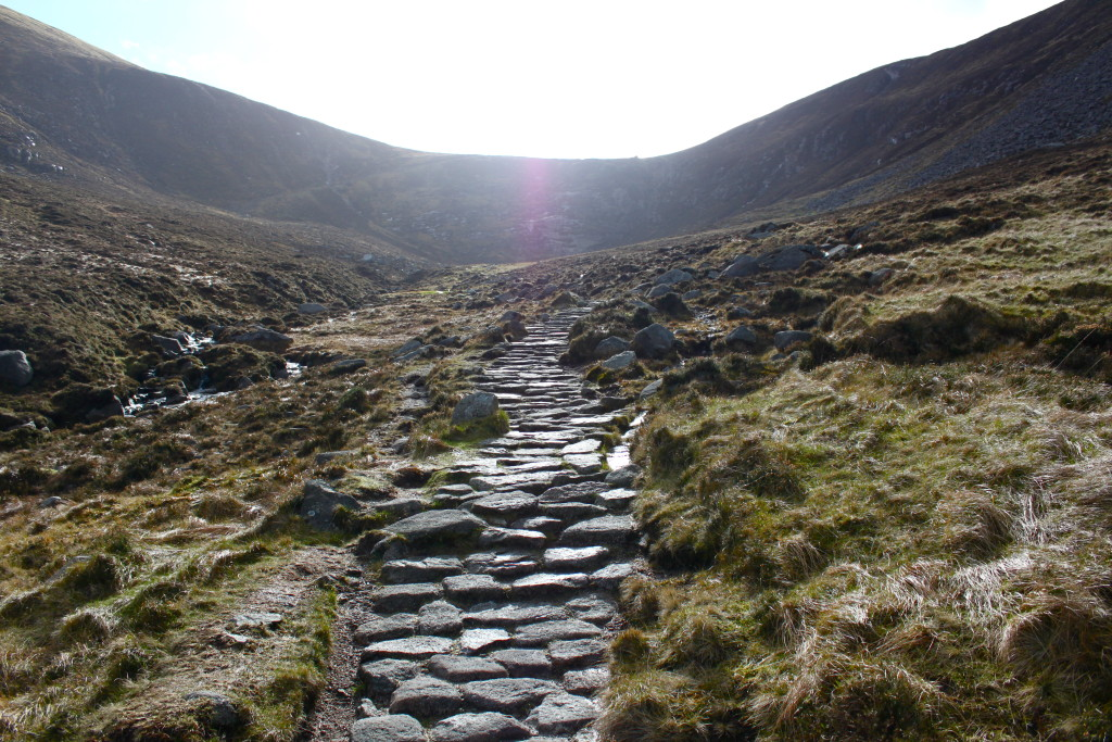 The path to Slieve Donard