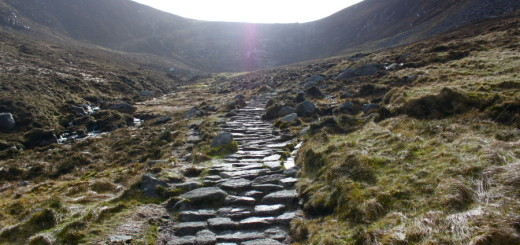 The path to Slieve Donard © Jonathan Brennan