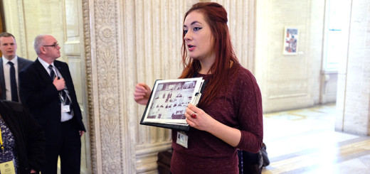 Touring the Parliament Buildings (Stormont) © Aptalops