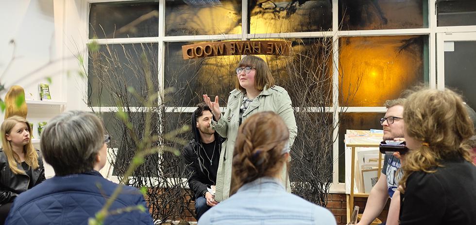 A Belfast Blog Meets: Dawn Richardson (Framewerk) © Aptalops