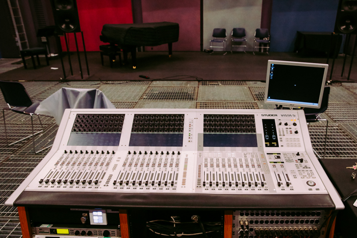 The mixing desk at SARC © Jonathan Brennan