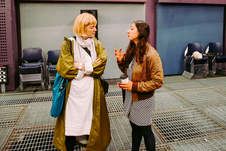 Sophie & Zeynep at SARC © Jonathan Brennan