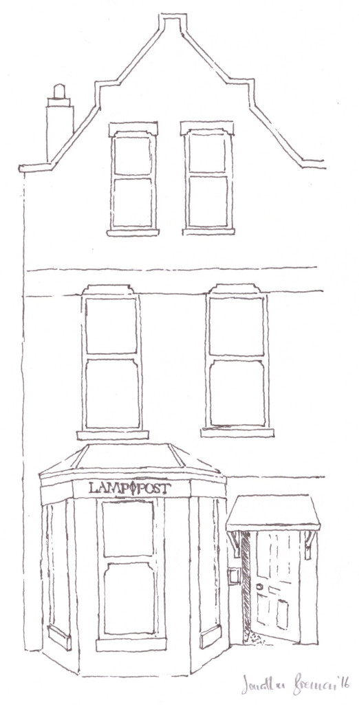 Lamppost Coffee House © Aptalops